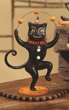 Juggling Cat - Johanna Parker