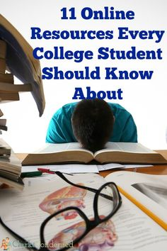 11 online resources every college student should know about