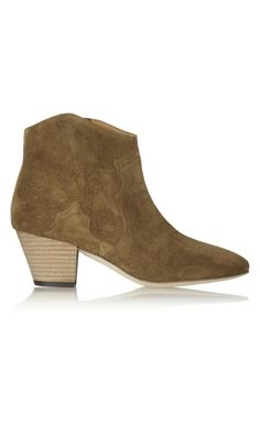 Isabel Marant The Dicker Suede Ankle Boots Light Brown - Isabel Marant Christmsa Deals ($650->$195, 70%off) AVAILABLE NOW! #christmasgift #christmas #christmasdeals