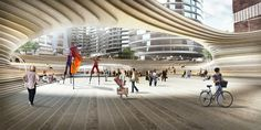 BIG Unveils Design For Battersea Power Station Square