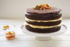 NAKED CAKE (BOLO PELADO) - RECEITA DA RITA LOBO