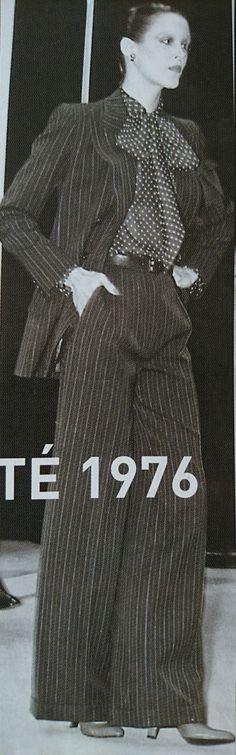 Janvier 1976. Haute couture été 1976. L Officiel 1000 modèles.