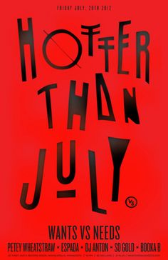 Hotter Than July by Anton Pearson, via Flickr