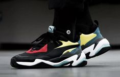 ba016df4a99 The PUMA Thunder Spectra merges dad shoe style with Alexander McQueen  influence.
