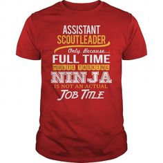Awesome Tee For Assistant Scout Leader