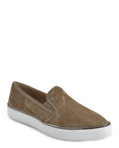 J/SLIDES BY J. LITVAK Taupe Dabble Slip-On Sneakers Spring Shoes, Slip On Sneakers, Taupe, Loafers, Fashion, Beige, Travel Shoes, Moda, Moccasins