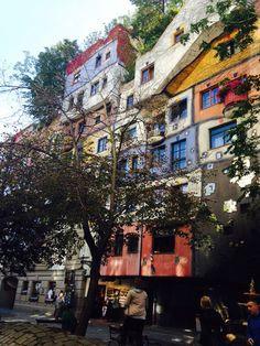 Hundertwasserhaus, Wien