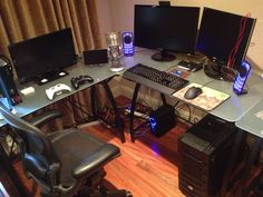 gaming setup 2013 - Google Search