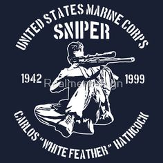 CARLOS WHITE FEATHER HATHCOCK US SNIPER