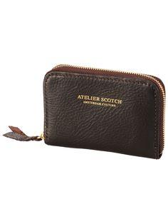 Leren portemonnee | Accessoires | Atelier Scotch Heren Kleding