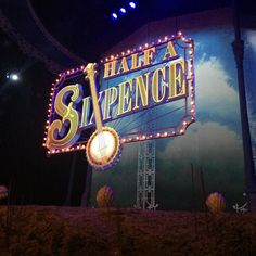 Front row for @halfasixpenceuk last week! Day seats for the win!    #theatre #photooftheday #potd #photo #nofilter #beautiful #pretty #uk #england #london #music #concert #westend #musical #theatrelover #singing #singer #halfasixpence