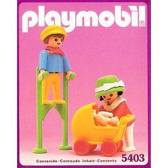 5403_プレイモービル 子供と乳母車