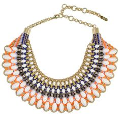 Dahlia statement necklace from SOLLIS