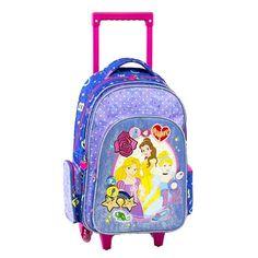 8072517f10 Disney Princess Multi Σχολική τσάντα τρόλεϊ Graffiti 181252   Disney Princess  Disney Princess 2018  sxolika  sxolika eidh