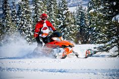 Snowmachin' in Summit, Alaska   -- Slednecks --