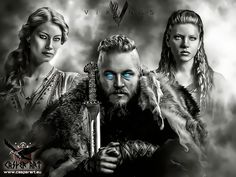The Viking Post: Princess Aslaug, Ragnar Lothbrok, Lagertha