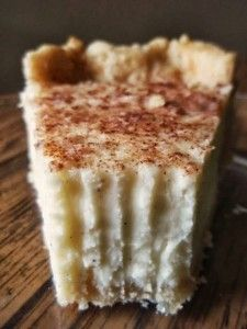 Recipe For  Vanilla Bean Cream Pie