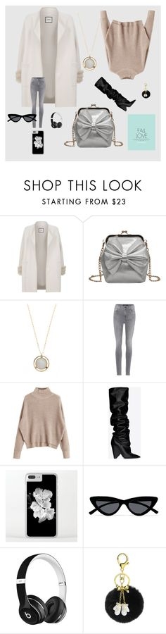 """Fall in love"" by hkristen on Polyvore featuring Max & Moi, Jacqueline Rose, J Brand, Yves Saint Laurent, Le Specs e Beats by Dr. Dre"