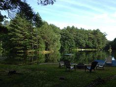 Lake House Set For Summer