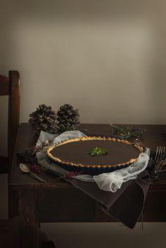 Tarta de chocolate. #chocolate   Cocinando con mi carmela.