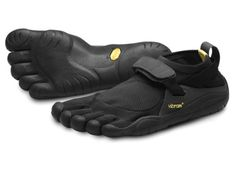 VIBRAM-FIVEFINGERS-KSO-Black-black-Mens-44-Barefoot-Run-Gym-Shoe-NIB-NWT