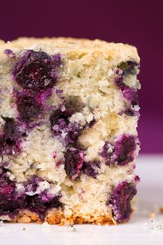 Blueberry Breakfast Cake | Cooking Classy