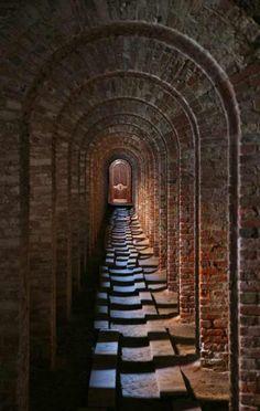 Arched Door - Chateau de Belcastel 13th cen France - 1319CDJ
