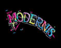 Post modernist by Gunnar Frigaard, via Behance Behance, Neon Signs