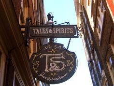 Tales & Spirits - tempting cocktail bar with yummy drinks and tasty food - Awesome Amsterdam