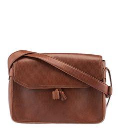 Bottega Veneta Vintage Brown Leather Shoulder Bag
