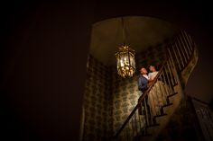 Love this photo of the bride and groom during the reception at The Manor House at Commonwealth in Horsham, PA | Juliana Laury Photography | Philadelphia + Bucks County Wedding Photography