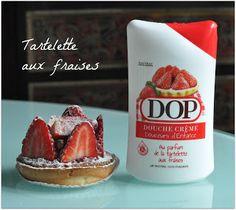 gel douche dop tartelette aux fraises