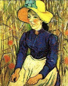 Seated Peasant by Van Gogh