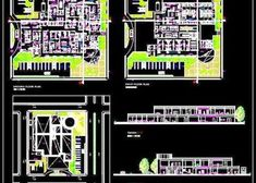 of a Multi Speciality designed in 2300 Sq. area on Floor. This drawing contains a detailed Hospital Architecture Layout Plan, Site Plan and Building Sections. Hospital Floor Plan, Hospital Plans, General Hospital, Bedroom False Ceiling Design, Bedroom Closet Design, Hospital Architecture, Architecture Plan, Autocad Layout, Bed Headboard Design