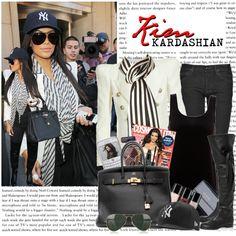 """1159. Celeb Style : Kim Kardashian (14.10.2010)"" by munarina on Polyvore"