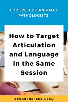 Those of us who work with school-aged children know that its rare to have cases with only one isolated problem. Because of that, we need to to expert problem-solvers who can figure out how to cram as much in to our sessions as possible. Here's how to target articulation and language in the same session. #articulation, #language, #speechpathology, #speechlanguagepathology, #speechlanguagetherapy, #speechtherapy, #slps, #speechpathologist, #speechtherapyideas