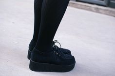 Fashion Suede Creepers