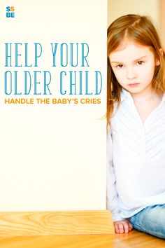 Looking for ways on helping older siblings cope with the new baby, especially when they cry? It's hard enough for parents to tolerate the baby's cries—imagine your older child. Here are 4 ways to help your older children handle baby crying.