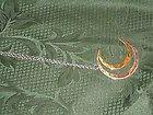 Robert Lee Morris (RLM) cresent moon necklace - Designer Jewelry Galleria