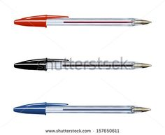 Pens collection isolated on white (with clipping work path) - stock photo Art And Craft Images, Pen Collection, Pens, Royalty Free Stock Photos, Arts And Crafts, Art And Craft, Art Crafts, Crafting