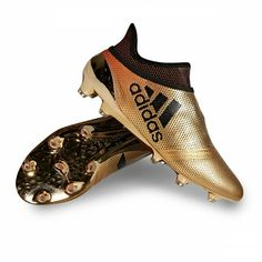 495827b89ae5 BOTA ADIDAS X 17+ PURESPEED FG Tactile gold metallic-Core black-Solar red
