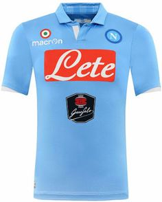 FlagWigs  SSC Napoli Home Jersey Shirt Kit 2014 2015 Italy S... Hull c49fc3974
