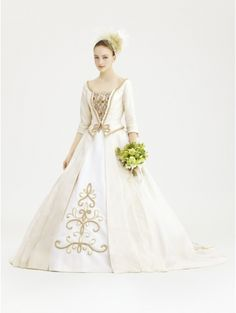 Royal Vintage Victorian Wedding Dress with Jacket