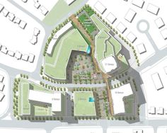 Site Plan, image courtesy of Urban Strategies