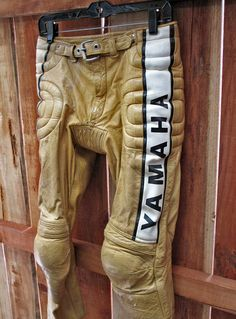Vintage Motocross & Motorcycle Gear
