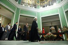 أردوغان يغادر طهران عقب لقاء روحاني وخامنئي