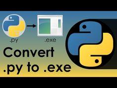 Convert PY to EXE - YouTube