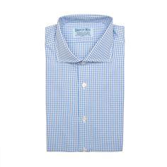 #camisa #LaPuente #Sevilla #men #modahombre #Oxford #gallito #celeste #HILDITCH & KEY