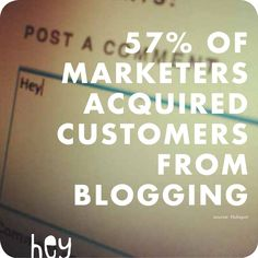 Marketers get business from blogging