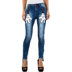 * Jeans cintura subida